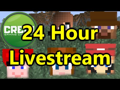 Minecraft - 24 Hour Live Stream THIS FRIDAY!