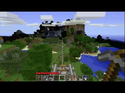 Red3yz' Minecraft Mini-Ep 1: Slime Escalator and Long Range Mobcart Testing