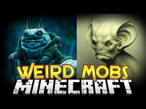 Minecraft Mods | WEIRD MOBS MOD! (Creepy Mobs, Armor, and More) - Minecraft Mod Showcase