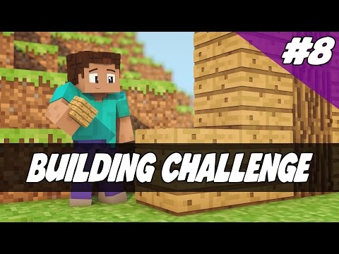 Minecraft Timed Castle Walls Building Challenge