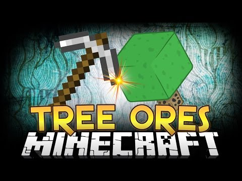 Minecraft Mods | ORE TREES MOD! (Farm, Grow, and Harvest Ores) Minecraft Mod Showcase