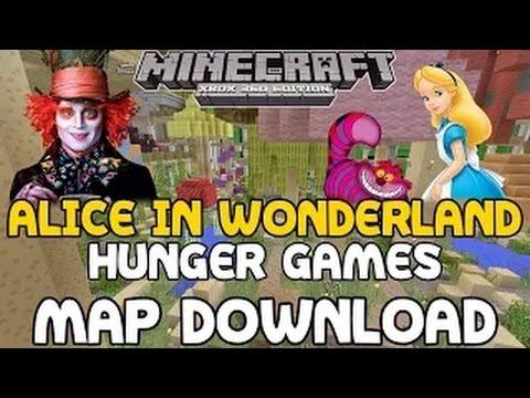 Minecraft: Alice in Wonderland Hunger Games Map w/ Download!