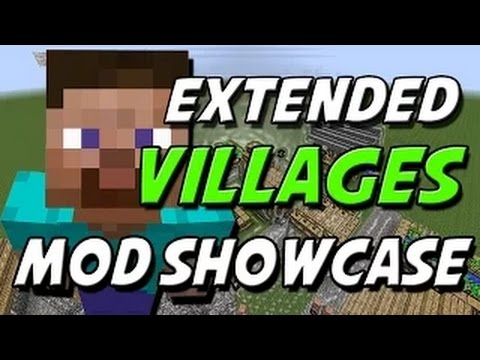 WINDMILLS & BAKERS | Extended Villager Mod for Minecraft 1.8 (Mod Showcase)