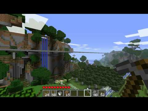 Red3yz' Minecraft LP Episode 2: Slime Tests, Caves and Factory Ideas
