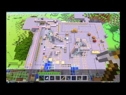 mc: full auto mechanical record factory grinder V1 WIP