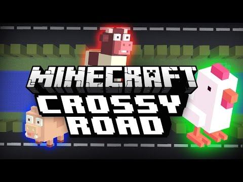 Minecraft CROSSY ROAD with TrueMU |