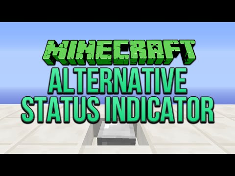Minecraft: Alternative Status Indicator Tutorial
