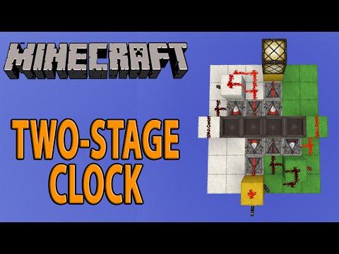 Short-Long Clock (Compact) Minecraft Tutorial