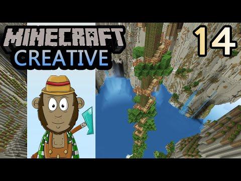 Minecraft Monkey & the Beanstalk! - 4th World - Episode #14
