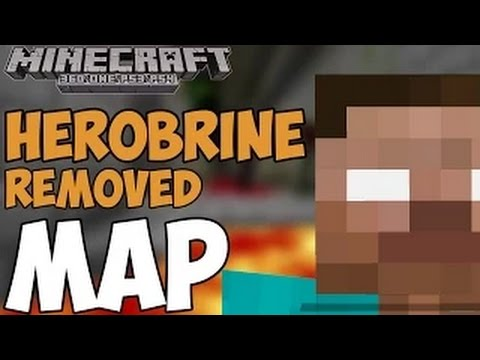 Minecraft Xbox Maps: HEROBRINE REMOVED Map Download! Xbox One Xbox 360