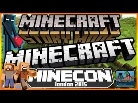 Minecraft NEWS | Minecon 2015 UK | Minecraft Story Mode Update! & Minecraft Name Changes! [NEWS!]