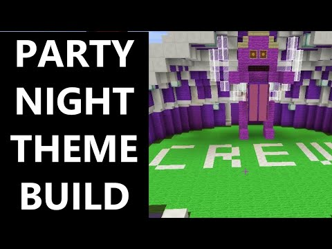 Minecraft - Party Night Build Contest - Vote for your fave