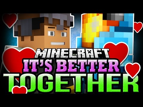 Minecraft IT'S BETTER TOGETHER - Minecraft Classic Co-op Map with TrueMU and Logdotzip