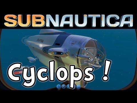 Subnautica Cyclops Submarine!  (Undersea Sandbox 1080p60)