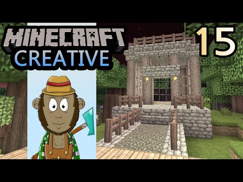 Minecraft Forest Village! - 4th World - Episode #15