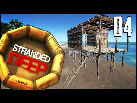Stranded Deep - Ep.04 - The Mansion & The Whale!