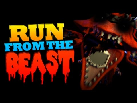 Minecraft Run from the Beast | Five Night's at Freddy's Edition!
