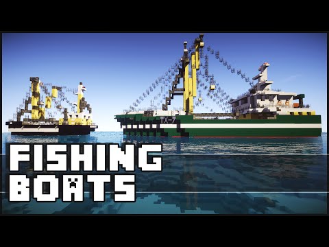 Minecraft - Amazing Fishing Boats