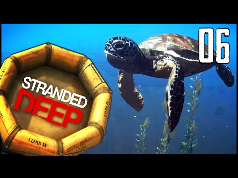 Stranded Deep - Ep.06 - Turtles, Stingrays & Toilet!