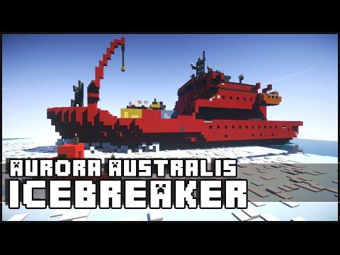 Minecraft - Icebreaker Ship (Aurora Australis)