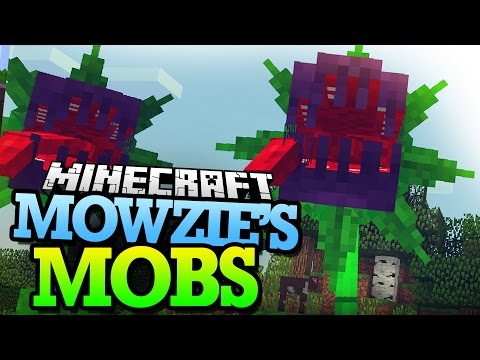 Minecraft Mod | MOWZIE'S MOBS! (Foliaath VS Mobs) - Mod Showcase