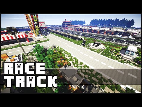 Minecraft - Super Epic Race Track (Brands Hatch UK)