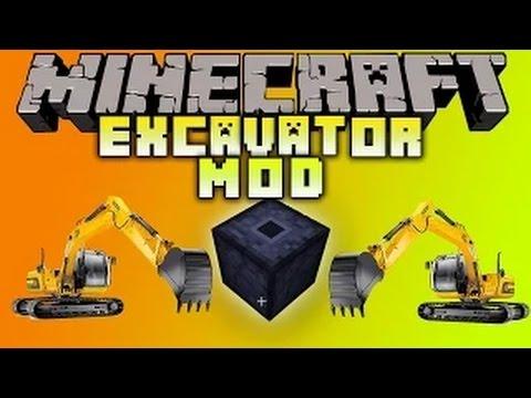 Minecraft 1.8.X Mod: Excavator Mod Showcase MINING MADE EASY! (Best Minecraft Mods)