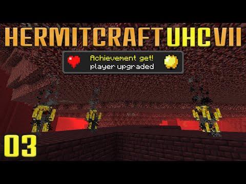Hermitcraft UHC VII 03 Blaze Hunting