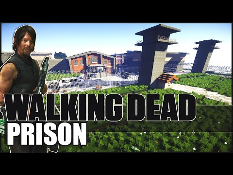 Minecraft - The Walking Dead Prison