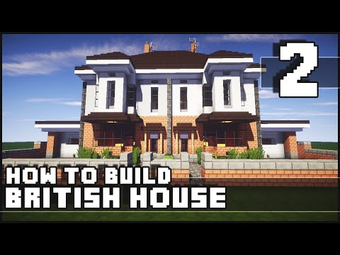 Minecraft - How to Build : British House - Part 2