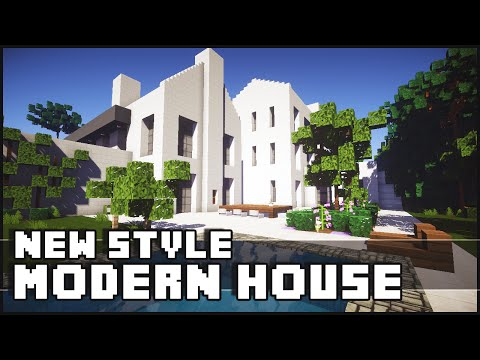 Minecraft - New Style Modern House