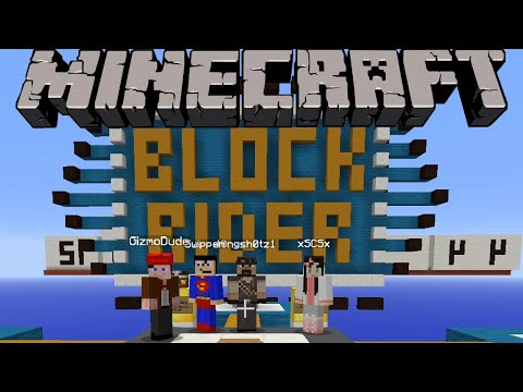 Minecraft Map - Block Rider - Part 1