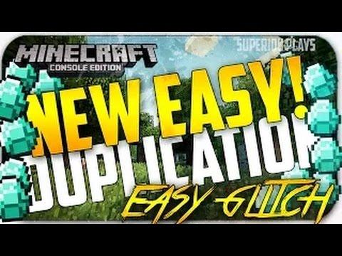 Minecraft: Ultimate NEW Super Easy Minecraft Duplication Glitch Tutorial