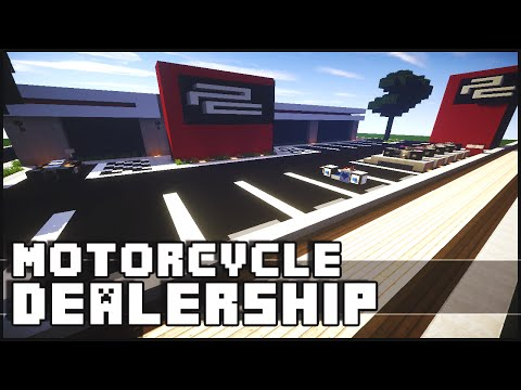 Minecraft - Motorcycle Dealership