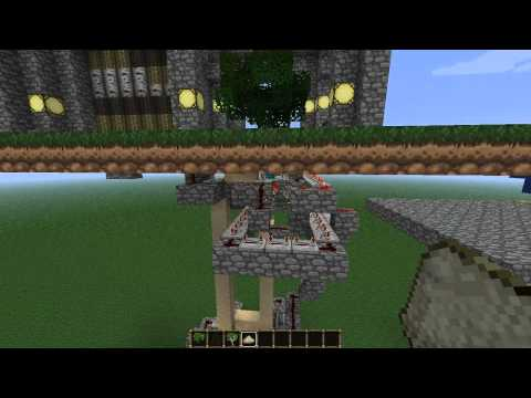 Automatic Tree harvester - Minecraft
