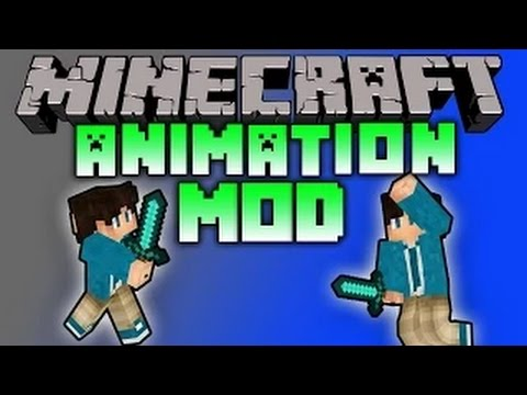 Minecraft Mods: BETTER ANIMATIONS MOD! - Mo' Bend Mod for Minecraft 1.7.10