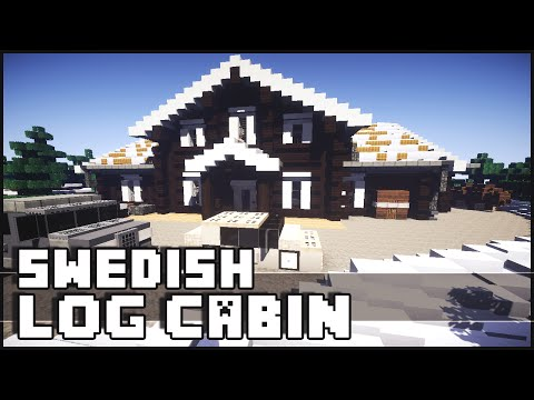 Minecraft - Epic Swedish Log Cabin