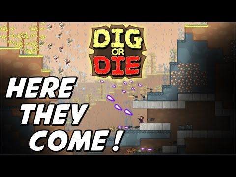 Dig or Die Gameplay Introduction (Sandbox / Action / Tower Defense)