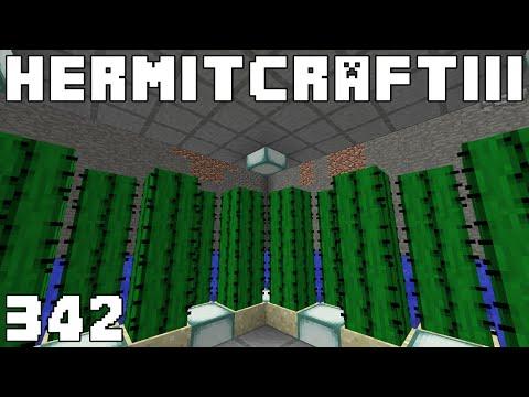 Hermitcraft III 342 Quad Slime Iron Power!
