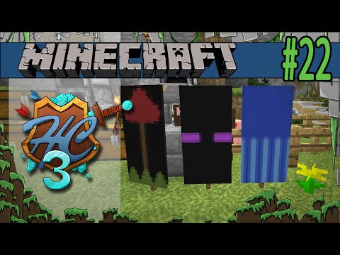 Minecraft Base Banners - Hermitcraft Amplified #22