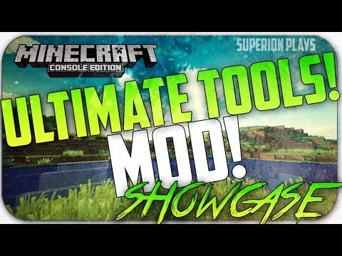 Minecraft Console: Ultimate Armor & Tools MOD! Showcase + Downloa