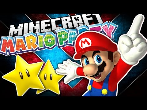 Minecraft Mario Party | Mario Party Minigames in Minecraft w/ TrueMU!