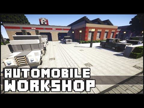 Minecraft - Car Workshop & Tuning