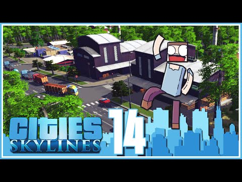 Cities Skylines - Ep.14 : Forest Industry!