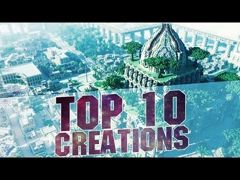 MINECRAFT TOP 10 BEST CREATIONS 2015 - Epic Cities and Buildings with Download 1.8.3 / 1.8 / 1.7