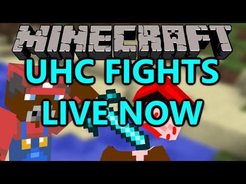 Minecraft - LIVE UHC Battles and some Epoch NOW!