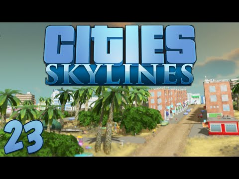 Cities Skylines 23 Flight Simulator