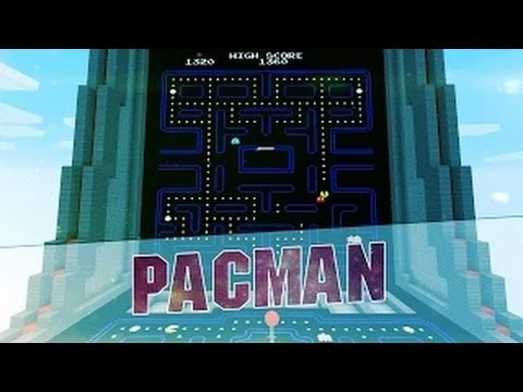 Minecraft Minigame - PACMAN IN MINECRAFT! Map /w Download - 1.8.3 - By MrSquishy