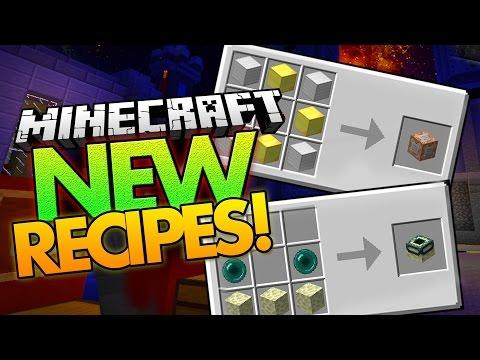 Minecraft Mod | NEW RECIPES MOD (Craft Spawn Eggs, Saddles, and More!) - Minecraft Mod Showcase