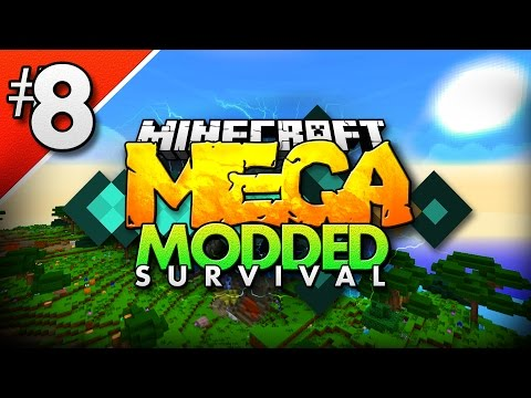 Minecraft MEGA Modded Survival #8 | WE CAN FLY! - Minecraft Mod Pack